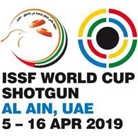 2019 ISSF Shooting World Cup Shotgun Logo