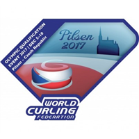 2017 Winter Olympic Games Curling Final Qualification Logo