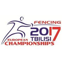 2017 European Fencing Championships Logo