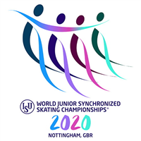 2020 World Junior Synchronized Skating Championships Logo