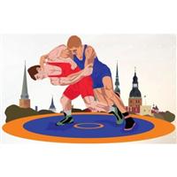 2016 European Wrestling Championships Logo