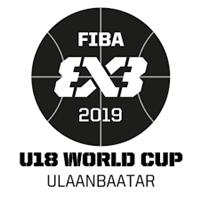 2019 FIBA 3X3 U18 World Cup Logo