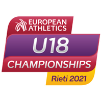 2021 European Athletics U18 Championships Logo