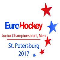 2017 EuroHockey Junior Championships II Men Logo