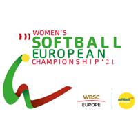 2021 European Softball Women Championship Logo