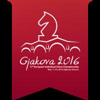 2016 European Individual Chess Championship Logo