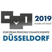 2019 European Fencing Championships Logo