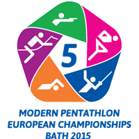2015 Modern Pentathlon European Championships Logo
