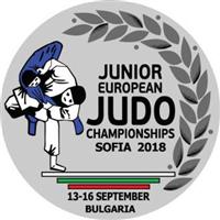 2018 European Junior Judo Championships Logo