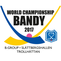 2017 Bandy World Championship Group B Logo