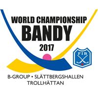 2017 Bandy World Championship Group B Logo