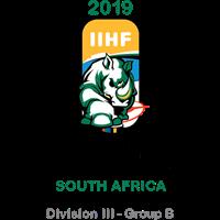 2019 Ice Hockey U18 World Championship Division III B Logo