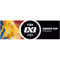 2018 FIBA 3x3 Europe Cup Logo