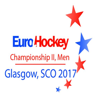 2017 EuroHockey Championships II Men Logo
