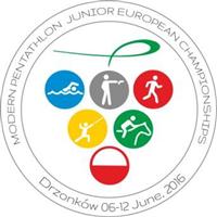 2016 Modern Pentathlon Junior European Championships Logo
