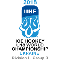 2018 Ice Hockey U18 World Championship Division I B Logo