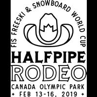 2019 FIS Snowboard World Cup Halfpipe Logo