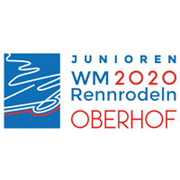 2020 Luge Junior World Championships Logo