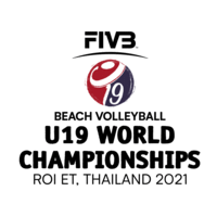 2021 U19 Beach Volleyball World Championships Logo