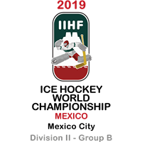 2019 Ice Hockey World Championship Division II B Logo