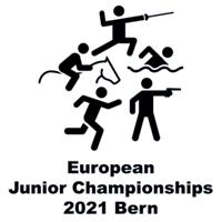 2021 Modern Pentathlon Junior European Championships Logo