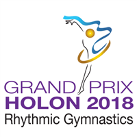 2018 Rhythmic Gymnastics Grand Prix Logo