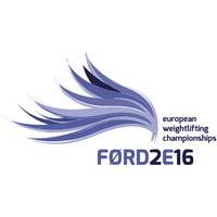 2016 European Weightlifting Championships Logo