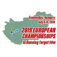 2019 European Shooting Championships Running Target Logo