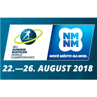 2018 Summer Biathlon World Championships Logo