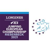 2021 Equestrian European Championships - Show Jumping Logo
