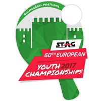 2017 European Table Tennis Youth Championships Logo