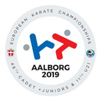 2019 European Karate Junior Championships Logo