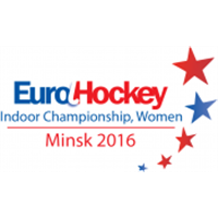 2016 EuroHockey Indoor Championship Women Logo