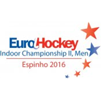 2016 EuroHockey Indoor Championship II Men Logo