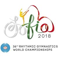 2018 World Rhythmic Gymnastics Championships Logo