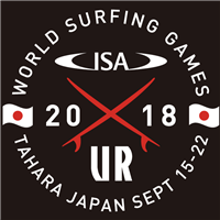 2018 World Surfing Games Logo