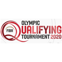 2021 Summer Olympic Games - Basketball Qualifying for Men Logo