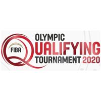 2020 Summer Olympic Games Basketball Qualifying for Men Logo