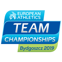 2019 European Athletics Team Championships Logo