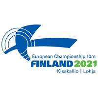 2021 European Shooting Championships - 10 m Logo