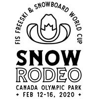 2020 FIS Snowboard World Cup Halfpipe Slopestyle Logo