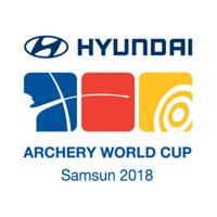 2018 Archery World Cup Logo