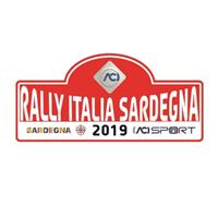 2019 World Rally Championship Rally Italia Sardegna Logo