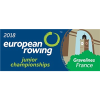 2018 European Rowing Junior Championships Logo