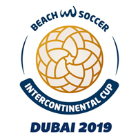 2019 Beach Soccer Intercontinental Cup Logo
