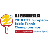 2018 European Table Tennis Championships Logo