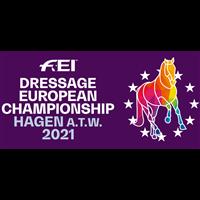 2021 Equestrian European Championships - Dressage Logo