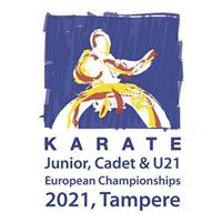 2021 European Karate Junior Championships Logo