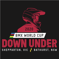 2020 UCI BMX Supercross World Cup Logo