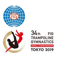 2019 Trampoline World Championships Logo